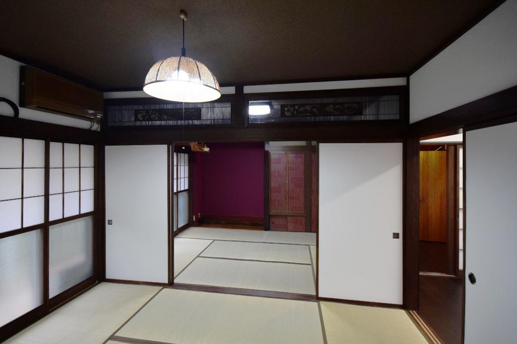【内装リノベーション】築54年の家を古民家風に再生