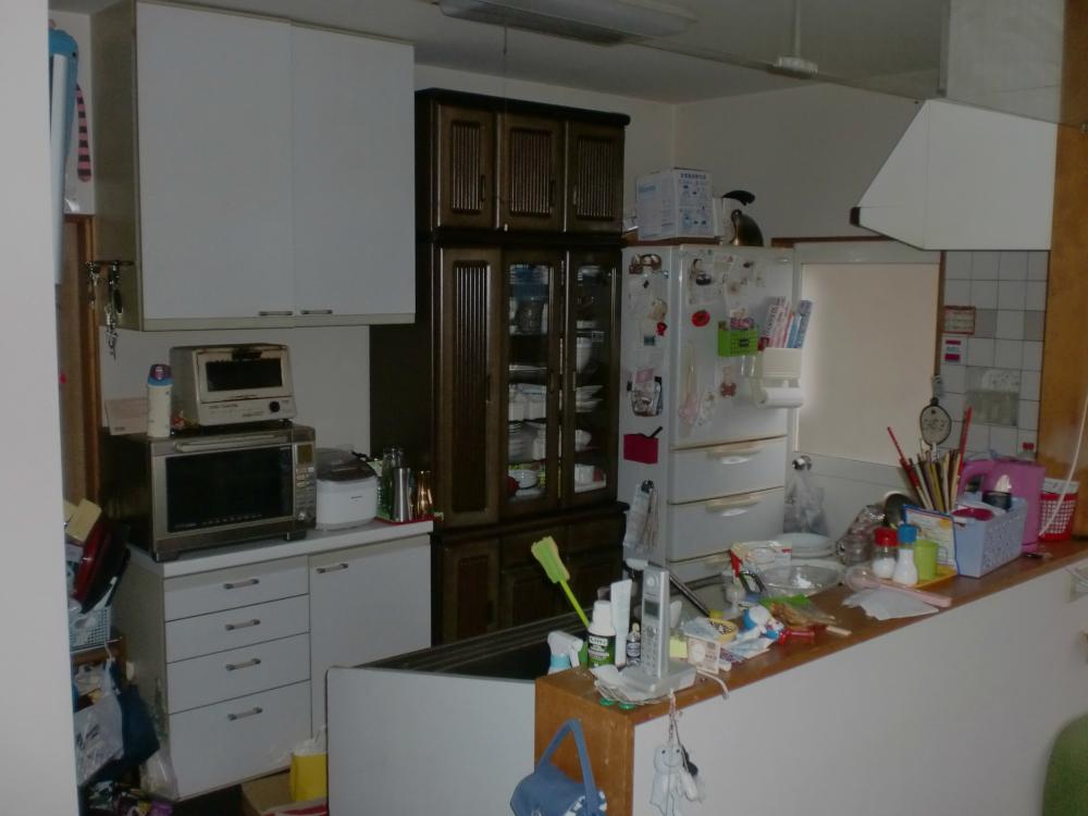Before キッチン画像