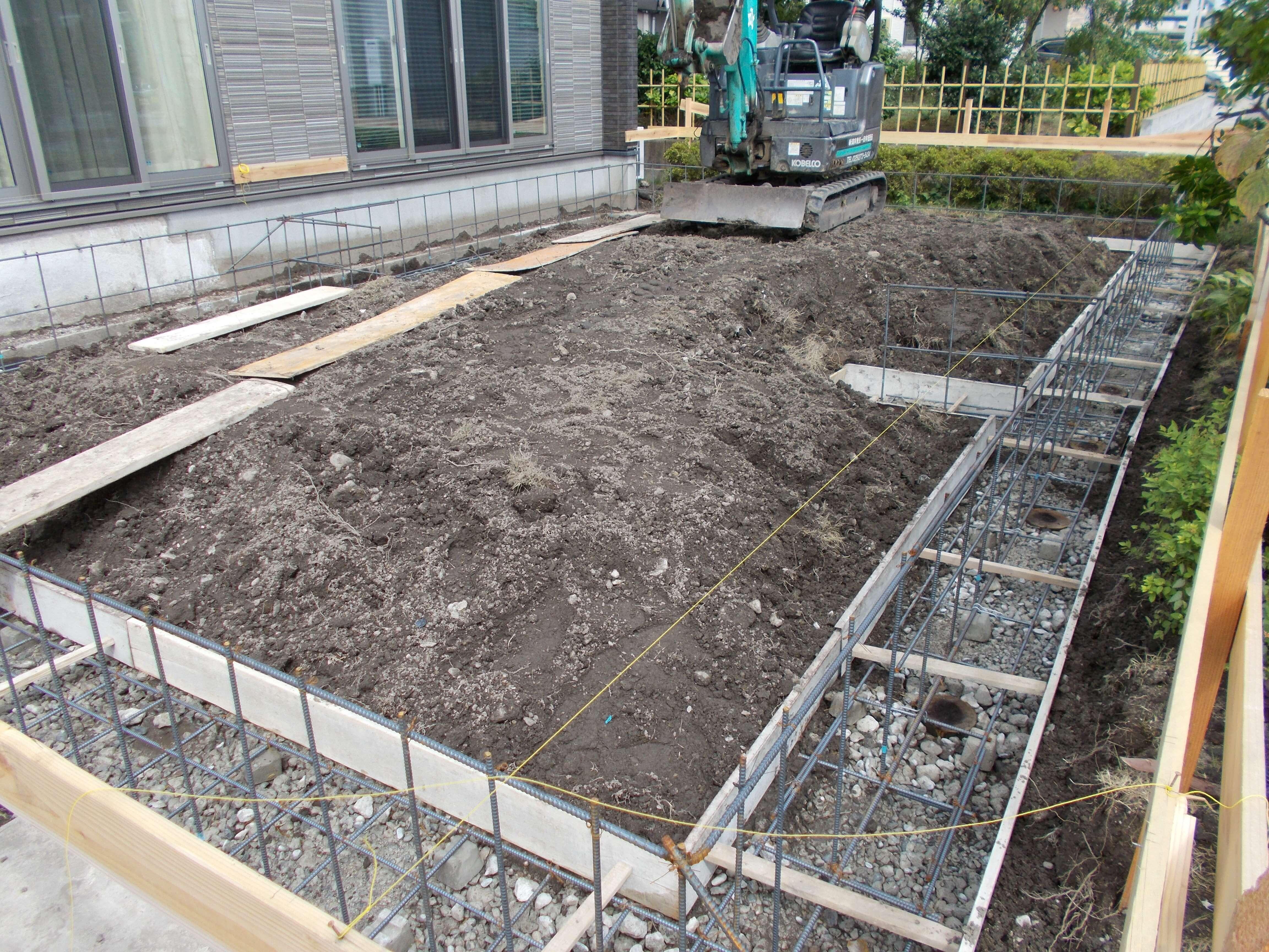 K様邸 増築工事始まりました。