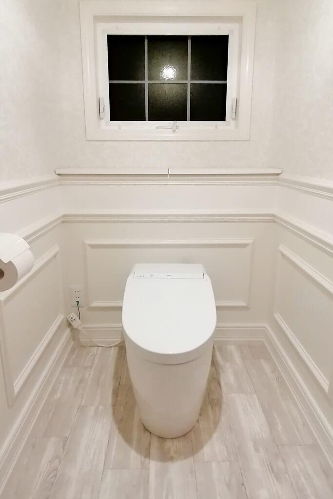 こだわりの詰まったアパルトマン風トイレ